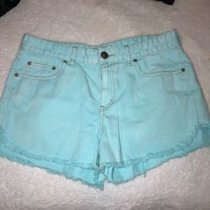 Free People Shorts - Light Blue